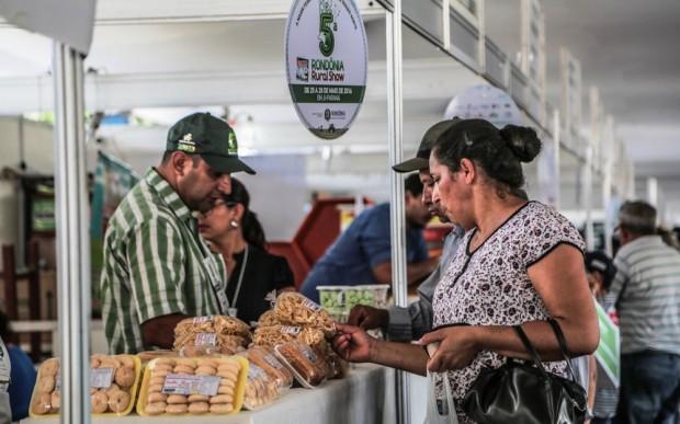 Produtos da agroindústria do estado foram atrativos aos visitantes
