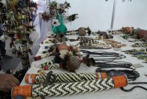 Artesanato indígena tem destaque no evento